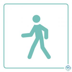 Icon aktiver Mensch